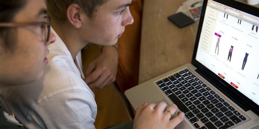 Boodschappen steeds vaker online gedaan