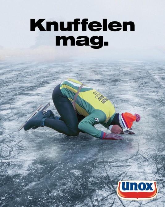 Unox vindt anonieme schaatsheld na 24 jaar terug